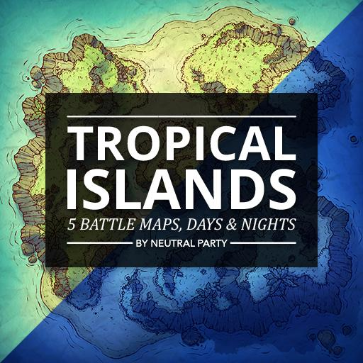 Tropical Islands Map Pack 1