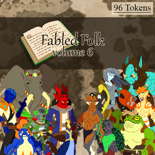 Fabled Folks Volume 6