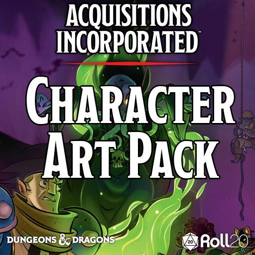 Acquisitions Incorporated (Character Art Pack)