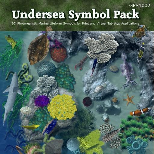 Undersea Symbol Set 50