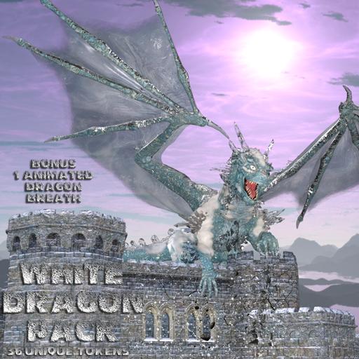Ddraig Goch's White Dragons