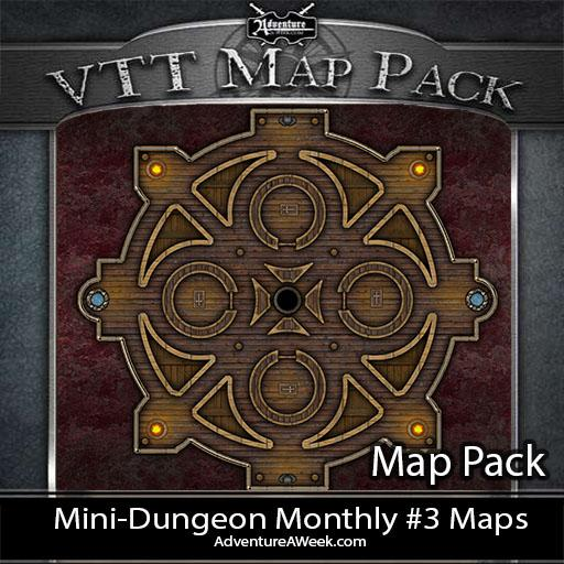 VTT Map Pack: MDM #3