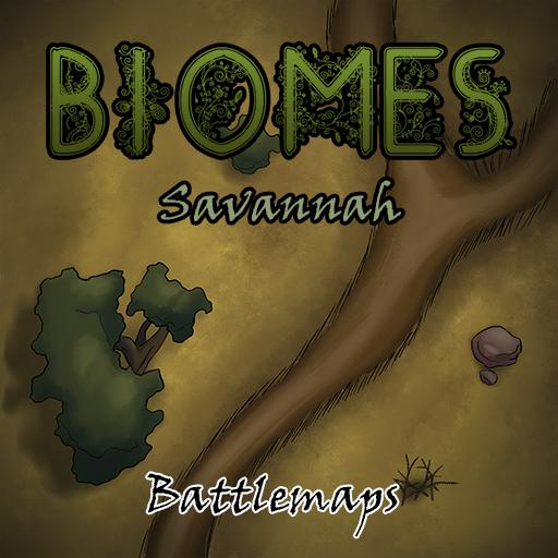 Biomes Battlemaps - Savannah