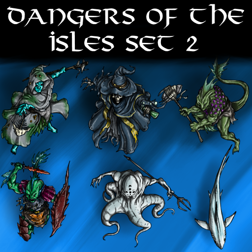 Dangers of the Isles Set 2