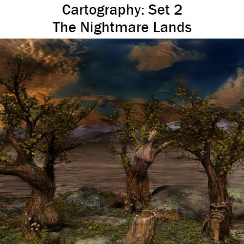 Cartography Set 2: The Nightmare Lands