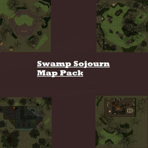 Swamp Sojourn Map Pack