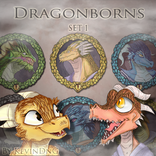 Dragonborns - Set 1
