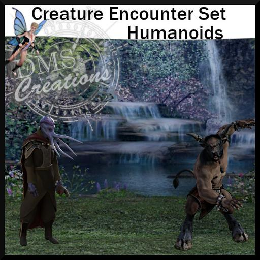 Creature Encounter set: Humanoids