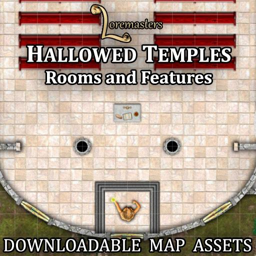 Hallowed Temples: Rooms and Features