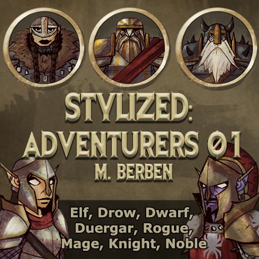 Stylized: Adventurers 01