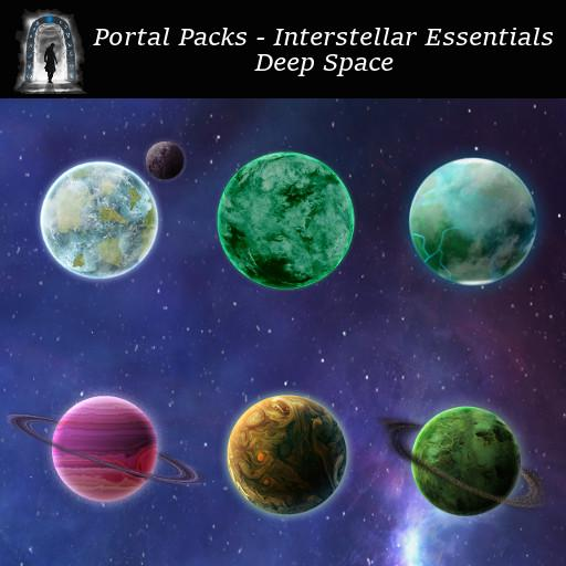 Portal Packs - Interstellar Essentials - Deep Space