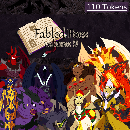 Fabled Foes Volume 9