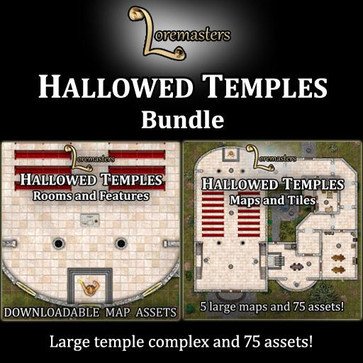 Hallowed Temples Bundle