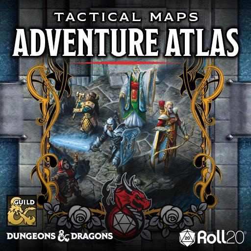 Tactical Maps Adventure Atlas