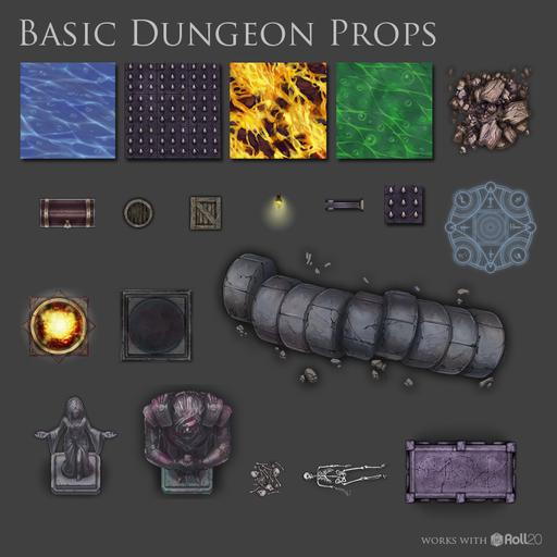 Basic Dungeon Props