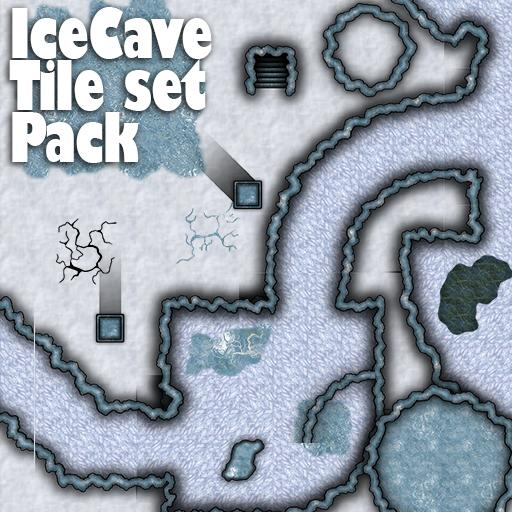 Ice Cave tile set Pack