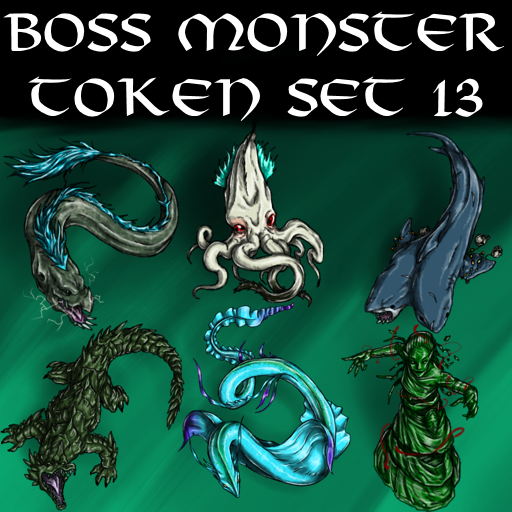 Boss Monster Token Set 13