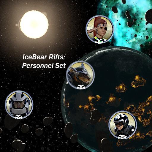 IceBear Rifts: Personnel