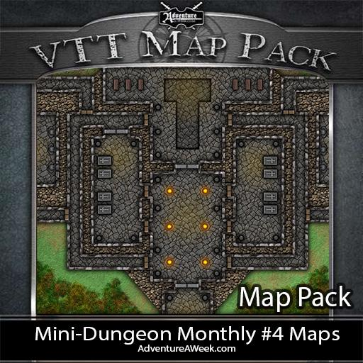 VTT Map Pack: MDM #4