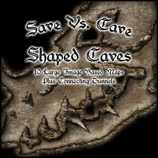 Save Vs. Cave Shaped Caves