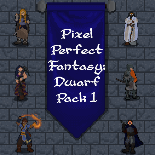 Pixel Perfect Fantasy: Dwarf Pack 1