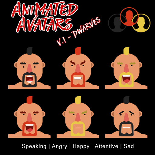Animated Avatars V1