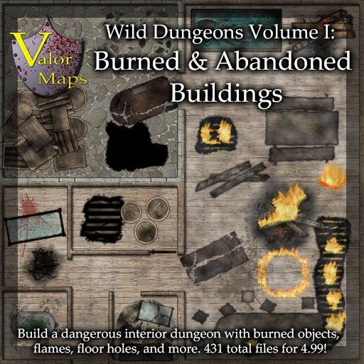 Wild Dungeons Volume 1