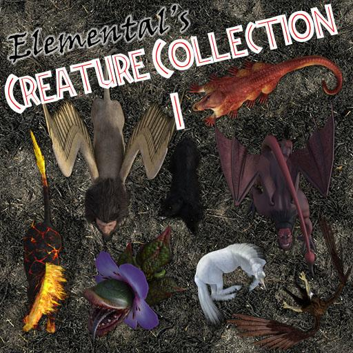 Elemental's Creature Collection 1