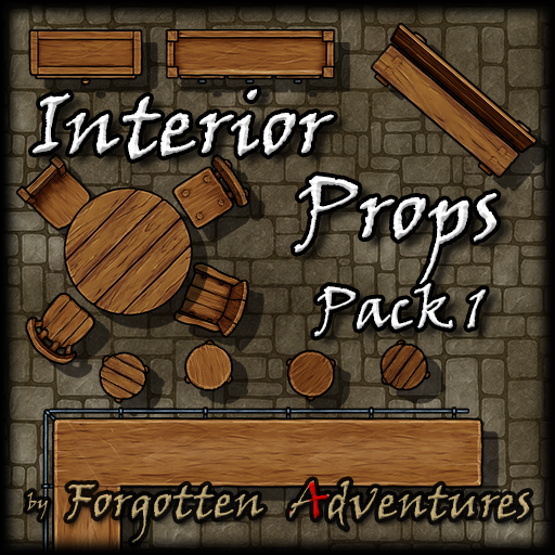 Interior Props - Pack 1