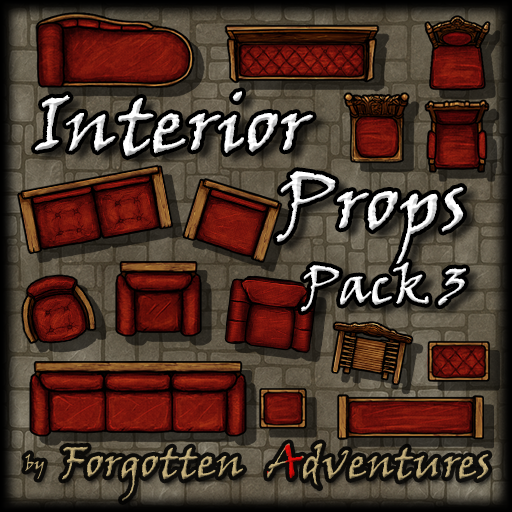 Interior Props - Pack 3