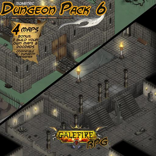 Isometric Dungeon Pack 6 - Corbin's Castle