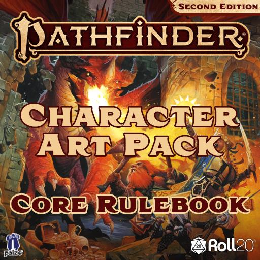 Pathfinder Second Edition Character Art Pack