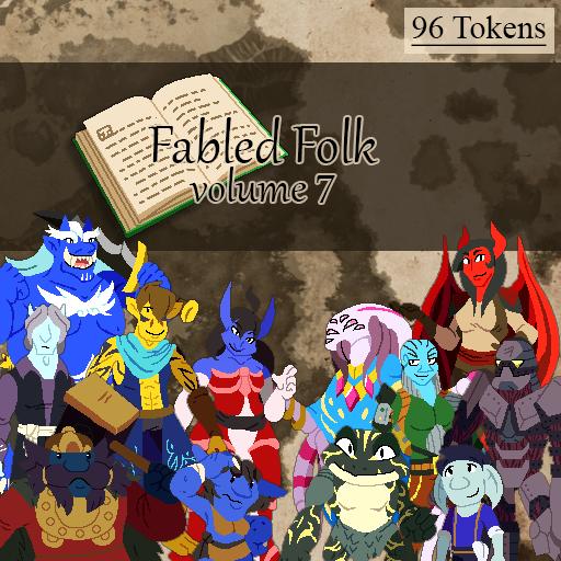 Fabled Folks Volume 7