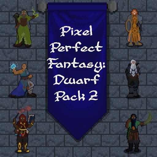 Pixel Perfect Fantasy: Dwarf Pack 2