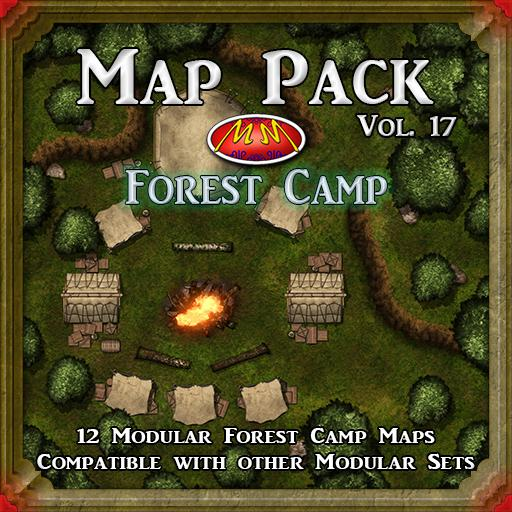 Map Pack 17 Forest Camp