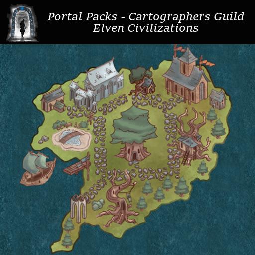 Portal Packs - Cartographers Guild - Elven Civilizations