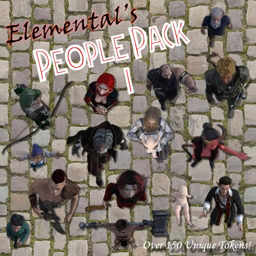Elemental's People Pack 1