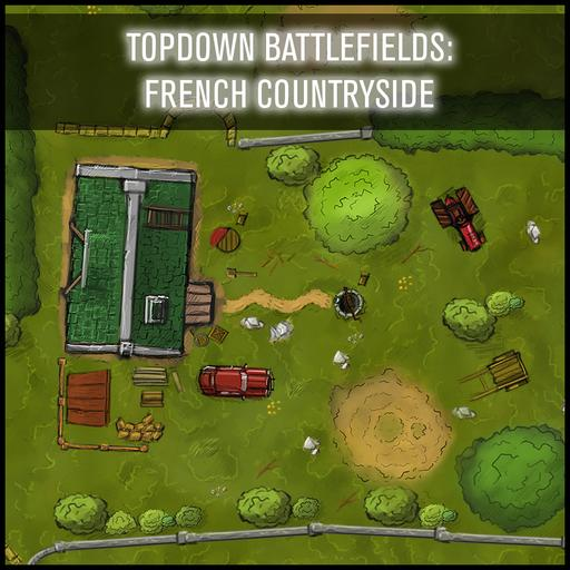 Topdown Battlefields: French Countryside