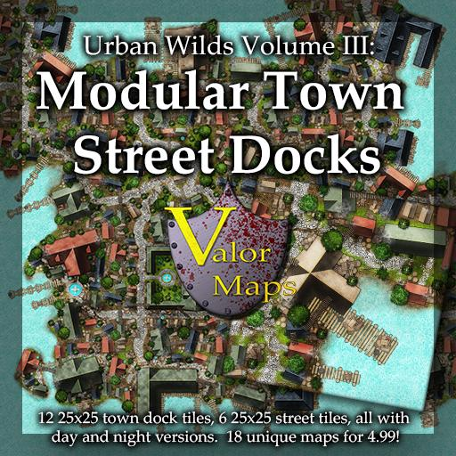 Urban Wilds V3: Modular Town Docks