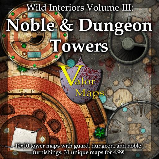 Wilds Interiors V3: Noble and Dungeon Towers