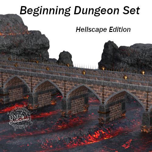 Beginning Dungeon: Hell-Scape Set
