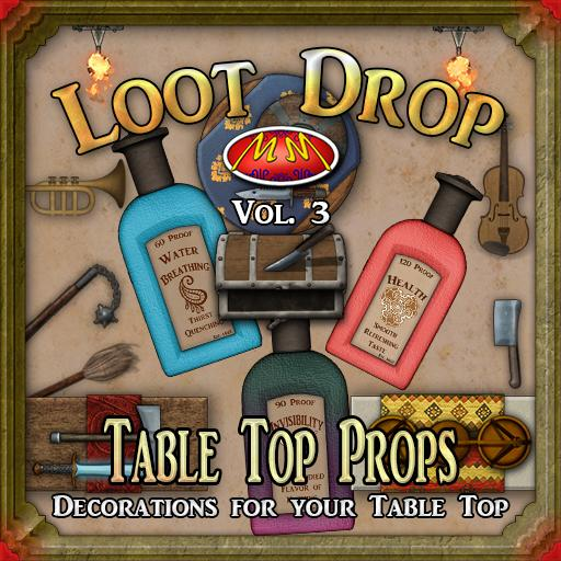 Loot Drop - Table Top Props v3