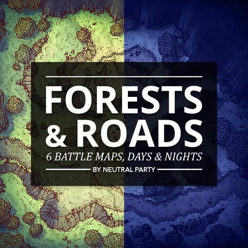 Forests & Roads Map Pack 3