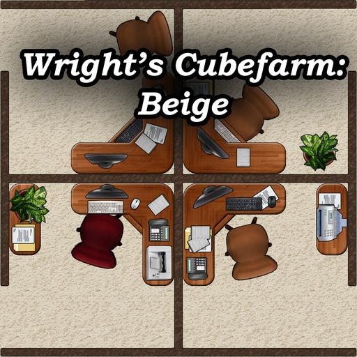Wright's Cubefarm - Beige Pack