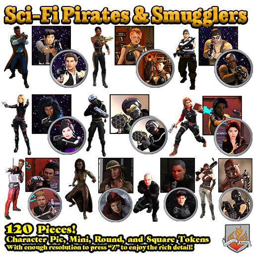 SciFi Pirates & Smugglers