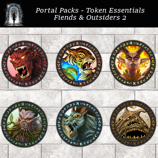 Portal Packs - Token Essentials - Fiends & Outsiders 2
