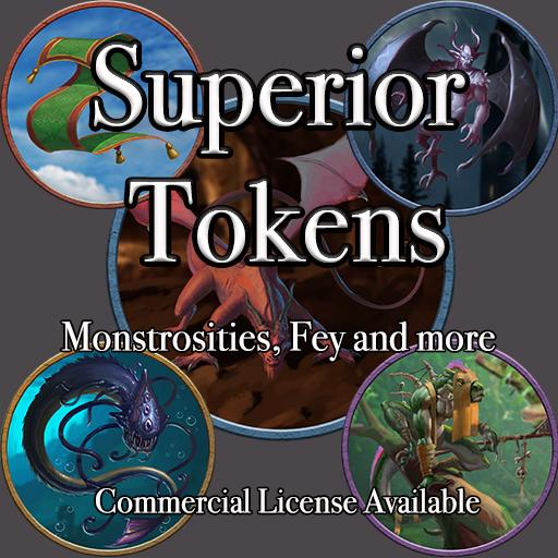 5E SRD Tokens - Monstrosities, Fey and more