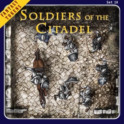 Fantasy Tokens Set 18, Soldiers of the Citadel