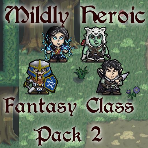 Mildly Heroic - Fantasy Class Pack 2