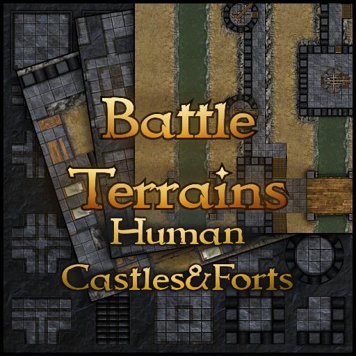 Battle Terrains Human Castles & Forts